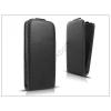 Haffner Slim Flexi Flip bőrtok - Apple iPhone 5/5S - fekete