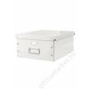 Leitz Irattároló doboz, A3, lakkfényű, LEITZ Click&Store, fehér (E60450001)