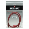 Intellinet Network Solutions Intellinet Network Cable RJ45  Cat6 UTP  2m Red  100% copper