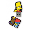 Integral Flashdrive The Simpsons  Bart  8GB  rubberised silicone