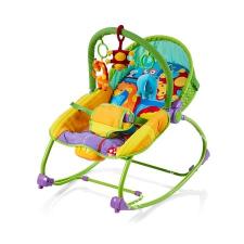 Chipolino Relax rezgő-zenélő pihenőszék - jungle interaktív babajáték