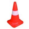 NEMMEGADOTT forgalomterelő kúp piros-fehér 45cm