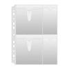 CD/DVD genotherm, lefűzhető, A4, 160 mikron, víztiszta, DONAU (D171525)