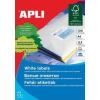 Etikett, univerzális, 48,5x25,4 mm, APLI, 1100 etikett/csomag (LCA10825)