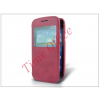 Haffner Samsung i8260 Galaxy Core S-View flipes tok - pink