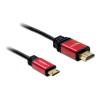 DELOCK HDMI <-> HDMI mini C M/M video jelkábel 5m 84338