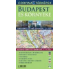 Corvina Kiadó Budapest és környéke hajtogatott várostérkép