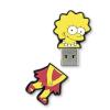 Integral Flashdrive The Simpsons  Lisa  8GB  rubberised silicone