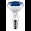 Discolux színes reflektorizzó R50 40W E14 kék GE/Tungsram