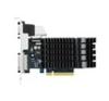 Asus nVidia GF GT730 VGA (PCIe 3.0, 2 GB DDR3, 64 bit, D-SUB+DVI+HDMI, passzív hűtő) videókártya