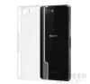 utángyártott Sony Xperia Z3 Compact Ultra Slim 0.3 mm szilikon hátlap tok, átlátszó tok és táska
