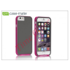 CASE-MATE Apple iPhone 6 hátlap - Case-Mate Slim Tough - grey/pink