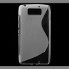 utángyártott Telefonvédő gumi / szilikon (S-line) Morotola Droid Ultra XT1080 ÁTLÁTSZÓ