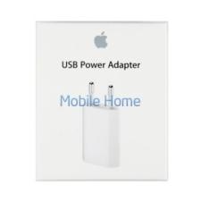 Apple hálózati töltő adapter, MD813, 5W, fehér mobiltelefon kellék
