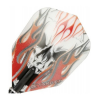 - Dart toll TARGET VISION RED FLAME SKULL