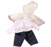 Götz esőkabát, nadrág és felső (42-46 cm-es babára) játékbaba felszerelés