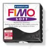 Gyurma, 56 g, égethető, FIMO Soft, fekete (FM80209)