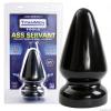 Ass Servant análkúp (fekete)