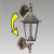 Prezent 3081 - CAPRI kerti fali lámpa 1xE27/60W IP44