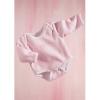 Götz Rózsaszín csíkos body (30-35 cm Baby)