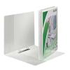 Leitz Gyűrűs könyv, panorámás, 2 gyűrű, 30 mm, A4 Maxi, PP, LEITZ, fehér (E42770001)