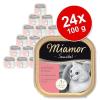 Miamor Sensibel gazdaságos csomag 24 x 100 g - Pulyka & tészta