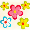Perfect home Falmatrica - virágos (kicsi) 72246