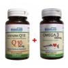 Nutrilab Koenzim Q-10+Omega 3 kapszula 90 db