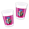 Disney hercegnők: Jégvarázs műanyag pohár - 8 darabos