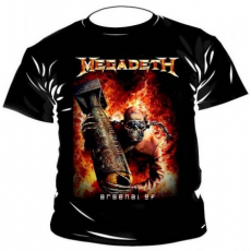 Megadeth, Arsenal of póló