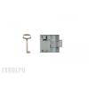 Elga N69/40R Rászegezős bútorzár (jobbos)
