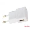 CELLECT hálózati töltőfej, 1 USB, 2000mA, Fehér