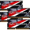 G.Skill F3-1866C10Q-32GRSL Ripjaws RSL SO-DIMM DDR3 RAM G.Skill 32GB (4x8GB) Quad 1866Mhz CL10 1.35V