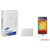 Samsung micro usb powerbank,bőr,3200mAh,Fehér