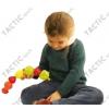 Gyümölcs fűző játék 24 részes, illesztőjáték