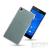 utángyártott Sony Xperia Z3 Ultra Slim 0.3 mm szilikon hátlap tok, átlátszó