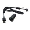 Sony Ericsson AN401+EC450 blister microUSB 5V autós/szivargyújtó adapter/töltő eredeti/gyári