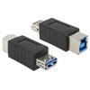 DELOCK adapter USB 3.0-A (F) - USB 3.0-B (F)