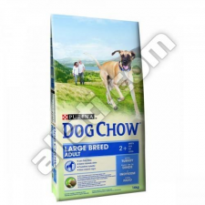 Purina Dog Chow Adult large breed 14kg kutyaeledel