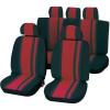 Unitec Autó üléshuzat készlet, 14 részes, piros/fekete, Unitec