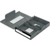 Renkforce Merevlemez tároló doboz, Renkforce HY-EB-8500 Szürke