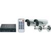 Renkforce Renkforce Távfelügyeleti készlet 2 csatornás SDHC digitális felvevővel és két 600 TVL, 4,3 mm-es CMOS színes kamerával Felbontás (sorok) 600 TVL