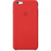 Apple iPhone 6 Plus bőrtok - piros