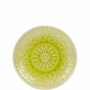 SUMATRA tányér 21cm lime