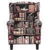 CHANDLER füles fotel könyvtár