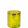 delight mécsestartó 8cm zöld üveg