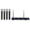 Malone UHF-550 Quartett1 vezeték nélküli mikrofon szettFogad