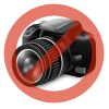 CASE-MATE Apple iPhone 6 Plus hátlap (black) + képernyővédő fólia + szivargyújtós töltő adatkábellel - Case-Mate 4in1