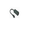 VCOM VCOM KÁBEL MHL MICRO USB-HDMI F 0.2m + MICRO USB F FEKETE