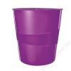 Leitz Papírkosár, 15 liter, LEITZ Wow, lila (E52781062)